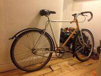 Bicycle - Singlespeed - Vintage Raleigh frame