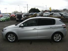 £0 TAX!! 2014 14 PEUGEOT 308 1.6 HDI ACTIVE 5D 92 BHP **** GUARANTEED FINANCE **** PART EX WELCOME