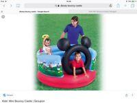 Bouncy castle for little ones.
