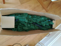 Moving out and selling 7ft Xmas tree+decorations -used only once!