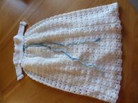 Christening Gown Hand Made Crochet