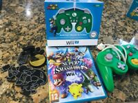Super Smash Bros Game and Battle Pad Controller