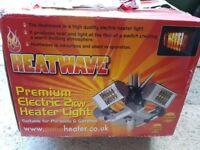 Premium 2kw patio heater. Suitable for parasols.