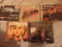 Set of 5 Blondie CDs