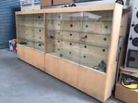 *SOLD* Vape Glass Stand Retail Shop Cabinet Display