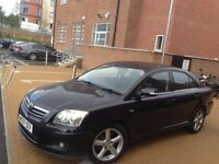 TOYOTA AVENSIS 2008 2.2 D-4D T180 BHP** NAVIGATION* LEATHER SEATS* 12 MONTH MOT*FULL SERVICE HISTORY