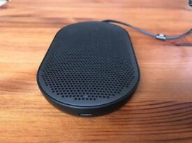 Bang & Olufsen Beoplay P2 portable bluetooth speaker black, fully boxed, new, rrp £150