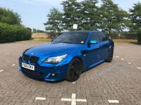Bmw 535d lci diesel mirror chrome blue not Audi Mercedes Volkswagen 530d automatic Vauxhall Seat