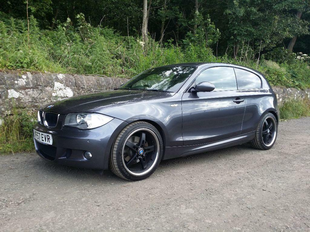 bmw 1 series 120d 2008 m sport in the shore edinburgh gumtree. Black Bedroom Furniture Sets. Home Design Ideas