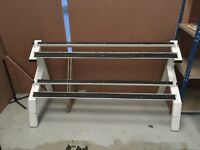 Dumbbell weights rack