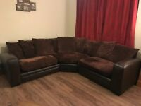 Brown Corner Sofa