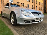 ★ STUNNING CONDITION, FULL SERVICE HISTORY ★ 2006 MERCEDES C180 KOMP. SE EVOLUTION 3dr COUPE AUTO
