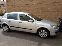 Silver Vauxhall Astra Life 1.7
