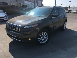 2014 Jeep Cherokee LIMITED**TOIT PANORAMIQUE**CUIR**