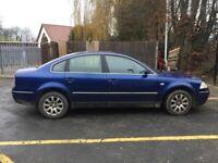 Volkswagen, PASSAT, Saloon, 2004, Manual, 1896 (cc), 4 doors