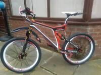 Specialized fsr carbon Downhill Bike