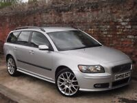 206 VOLVO V50 2.0D SE SPORT!!!FSH,12 MONTHS MOT,FINANCE AVAILABLE!!1