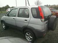 02 Daihatsu Terios 4x4 5 door Silver clean car great driver ( can be viewed inside anytime)