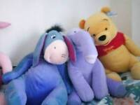 Winnie the Pooh stuffed toys collection
