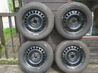 Winter wheels and tyres for Mercedes C180