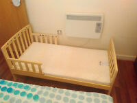 George Toddler Bed and Mattress