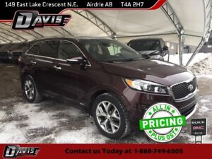 2016 Kia Sorento 2.0L SX NAVIGATION, 2-PANEL SUNROOF, HTD/CLD...