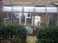 free to collector vintage conservatory/lean to