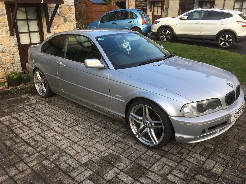 bmw e46 320i coupe in helston cornwall gumtree. Black Bedroom Furniture Sets. Home Design Ideas