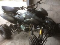 breaking complete bashan 250cc quad
