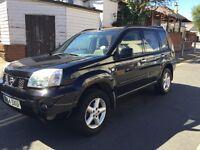 2004 54 Nissan x trail sport 2.5 petrol 4x4 black,
