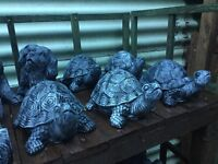 Stone tortoise garden ornament£4.00 each