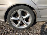Genuine Mercedes 17' adharaz alloys&tyres
