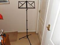 Portable Sturdy Folding Music Stand