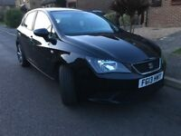 Seat Ibiza 1.2 TDI CR S - Black- £20 Tax Low Insurance