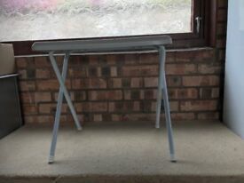 Collapsible small table for caravan, picnics, etc