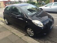 Black 07 Toyota Yaris - Great condition, 3-door, 2 owners, automatic, 1.2l