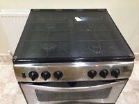 Gas cooker G60d satin steel