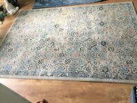 AXMINSTER RUG LARGE LOVELY AXMINSTER QUALITY Cost £185 sell for £55