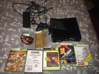 Xbox 360 slim controller + games