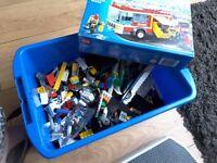 LEGO ASSORTED PIECES 0.5KG