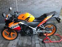 2013 Honda CBR250R Repsol