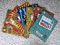 Wheres wally books + bag