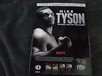 MIKE TYSON 4DVD AND BOOK SET