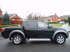 FINANCE ME!! NO VAT!! 2006 Mitsubishi L200 2.5DI-D 4WD Double Cab Pickup Animal. With FULL HISTORY!!