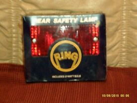Four Rear Safety Lamp