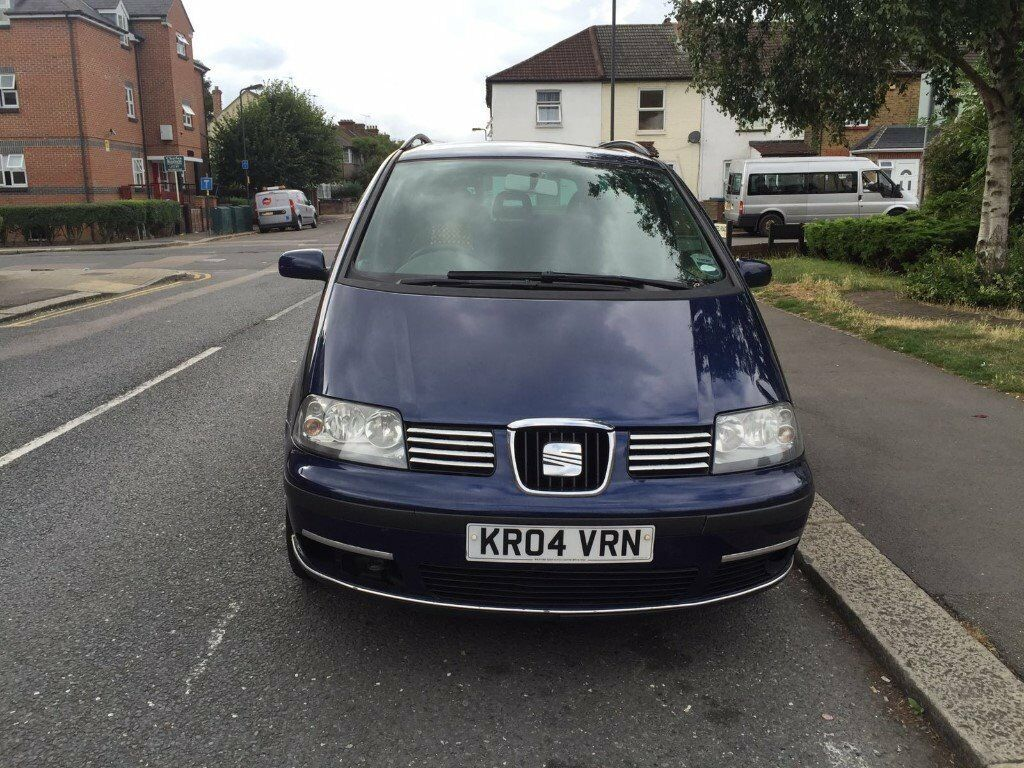 seat alhambra diesel 1 9 beautiful car great family car. Black Bedroom Furniture Sets. Home Design Ideas