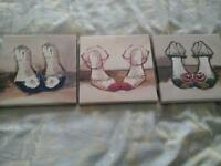 Next set of 3 canvas pictures