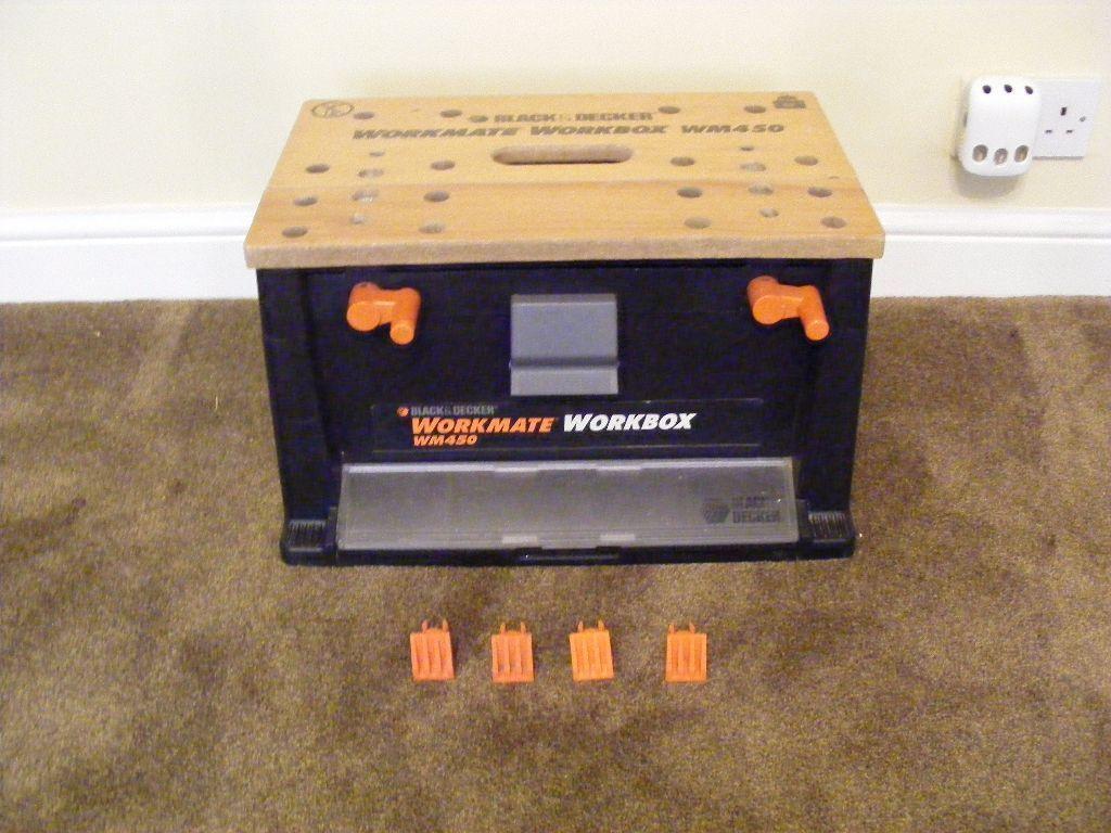 Workmate Workbox Toolbox Wm450 Black And Decker Collection
