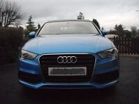 Audi TFSI ULTRA. S3 Cabriolet S-Line Limited Edition.
