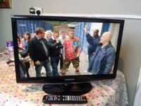 """Excellent 23""""; SAMSUNG LCD TV full hd ready 1080p, freeview inbuilt"""